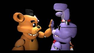 High Five :3 (FNAF SFM Speed art) (Requested by Derpy Springtrap)