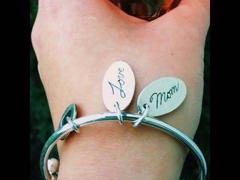 Custom Made Handwriting Jewelry You