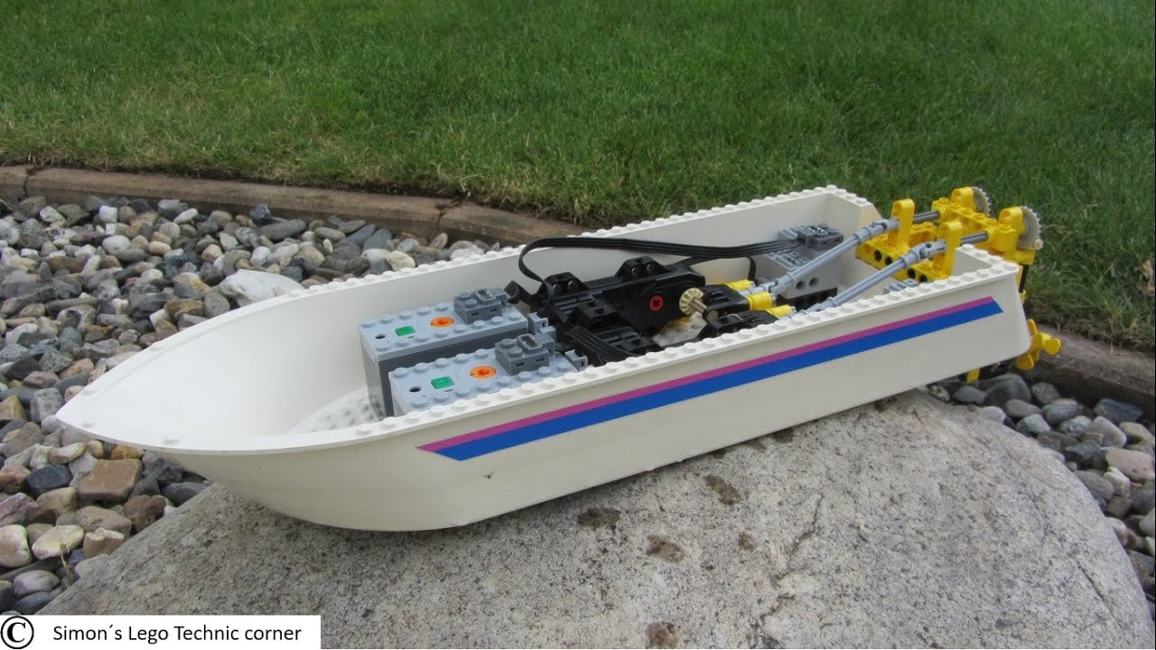 how to make a lego boat
