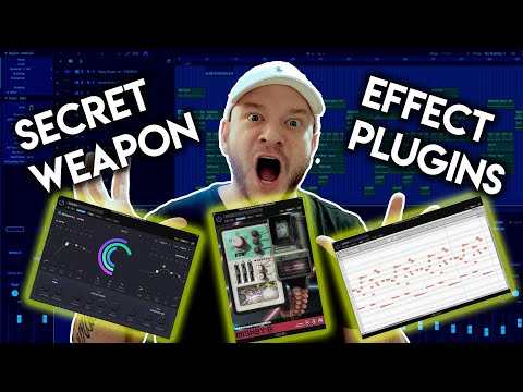 🤫 MY SECRET WEAPON EFFECT PLUGINS FOR 2020 - FX PLUGINS FOR LOGIC PRO X