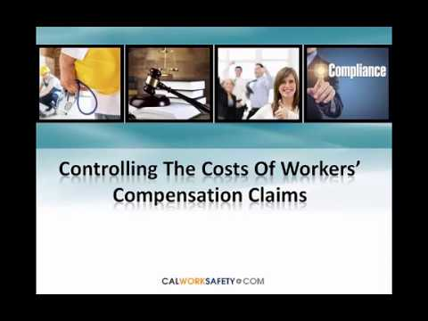 Controlling The Costs Of Worker's Compensation Claims