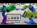 Nintendo Labo Robot Kit - Overview Trailer (2 Player Versus & More Modes Revealed!)