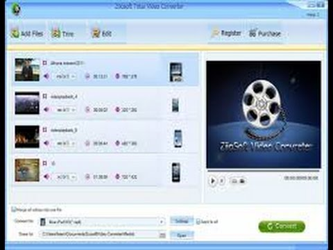 how to convert video to 3gp,mp4,avi format using total video converter