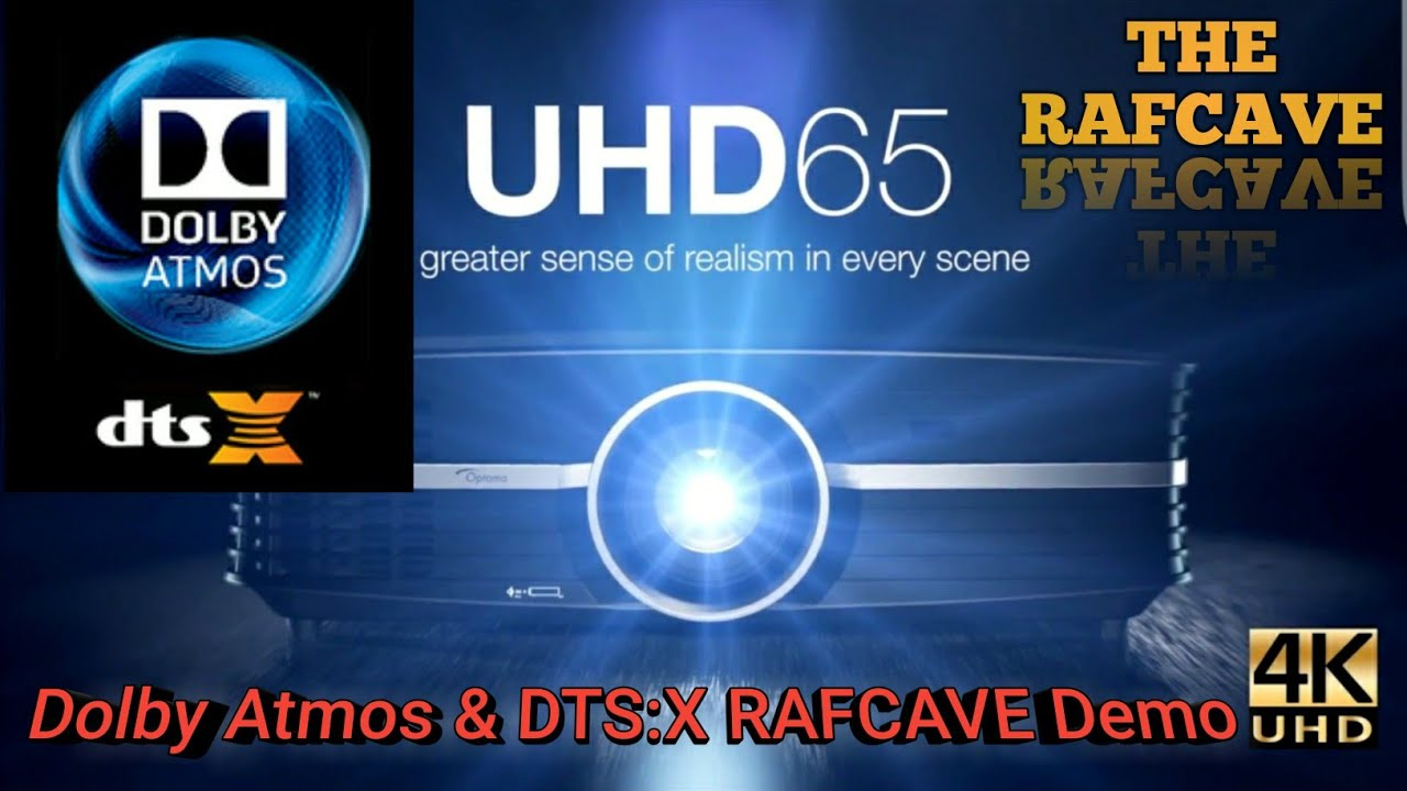 Dolby Atmos & DTS:X RAFCAVE Kodi Demo