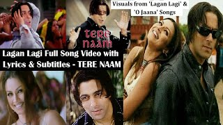 Lagan Lagi Full Song Lyric Video HQ ft Salman Khan, Mahima Choudhary- Tere Naam- Bollywood SuperHits