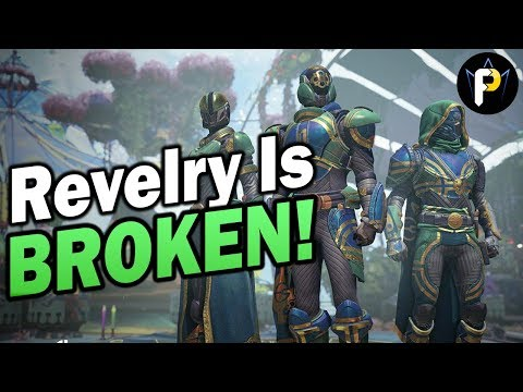 The Revelry is BROKEN! PvP Live Commentary (Destiny 2)