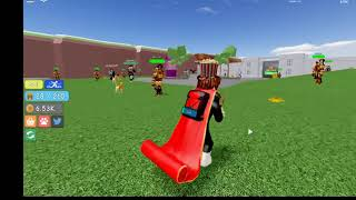 ROBLOX: Warrior Simulator multiple codes!!!