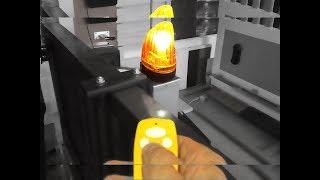 Підключення лампи до сдвижному приводу