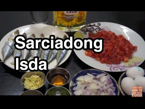 Sarciadong Isda Recipe - Pinoy Fish & Egg Philippines‬ Filipino ‬