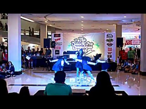 160228 AGATE cover GFriend (여자친구) - Glass Bead + Me Gustas Tu + Rough at Paragon Mall, Solo