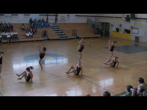 Jazz Routine - Cupertino HS Dance Team - Feb. 27, 2010