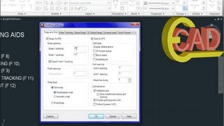 Learning AutoCAD 2013 Tutorial 4: Basic Drawing Aids.