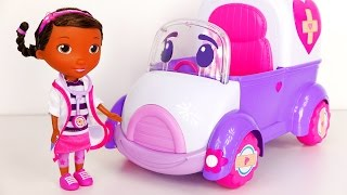 Doc McStuffins and Rosie The Rescuer Surprise Toys for Kids
