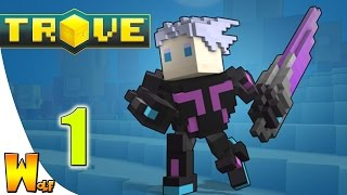 Trove| Ep.1| Neon Ninja GO!!!!!