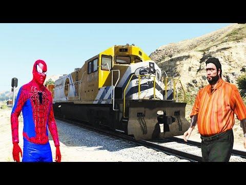 Şimşek McQueen Ve Örümcek Adam Recep İvedik Trene Karşı Recep İvedik Treni Durduruyor.
