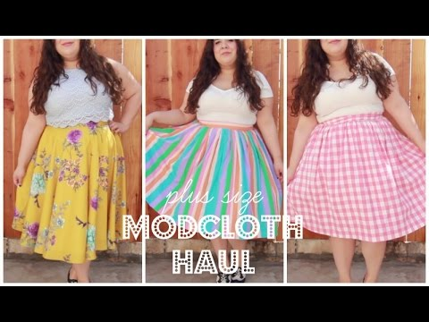 More Midi Skirts! | Plus Size Modcloth Haul