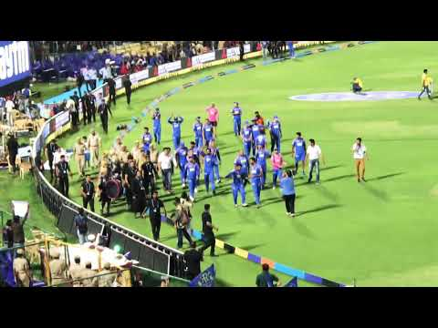 Rajasthan Royals Celebrating at SMS Stadium, Jaipur