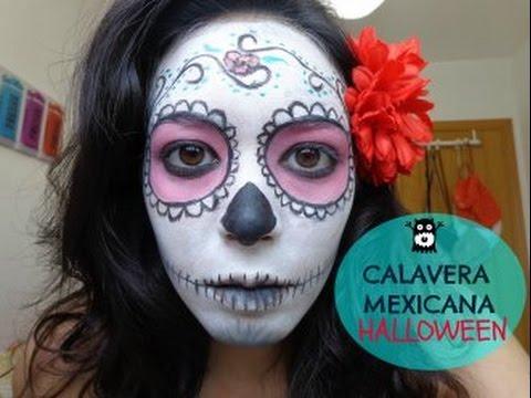 Halloween Catrina o Calavera mexicana (Sugar Skull)