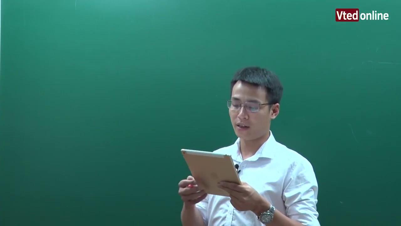 Vted.vn – Chữa đề THPT Quốc Gia Môn Toán (Mã đề 112)