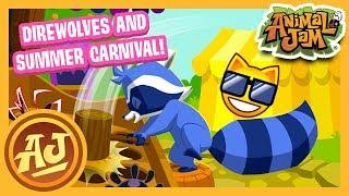 Jammer Made Direwolves and Summer Carnival Fun! | Animal Jam