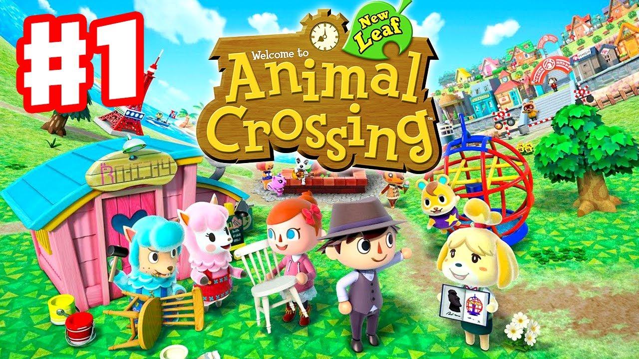 Animal Crossing Wild World Wallpaper Animal Crossing New Leaf Gameplay Walkthrough Part 1
