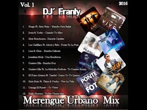 Merengue Urbano Mix 2016