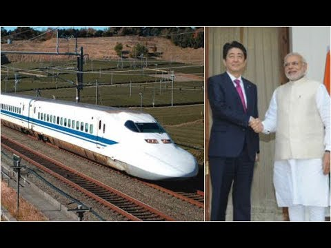 INDIA,s First Bullet Train-Japan's Abe to launch $17-billion Indian bullet train project