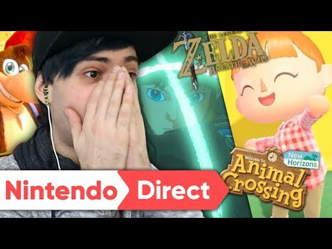 🔴 RÉACTION E3 NINTENDO 2019 EN LIVE ! NOUVEAU ZELDA ? BANJO ? ANIMAL CROSSING ?