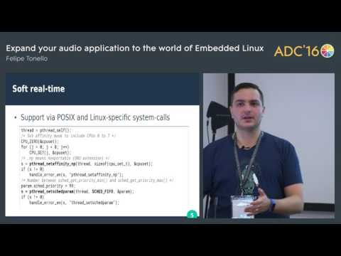 Audio applications on Embedded Linux, Felipe Tonello