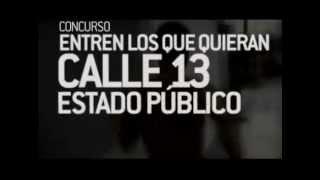 Gana un pase de prensa para ver a Calle 13