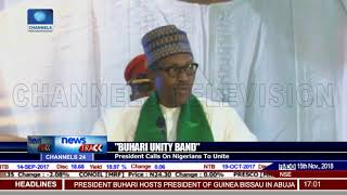 President Buhari Calls On Nigerians To Unite