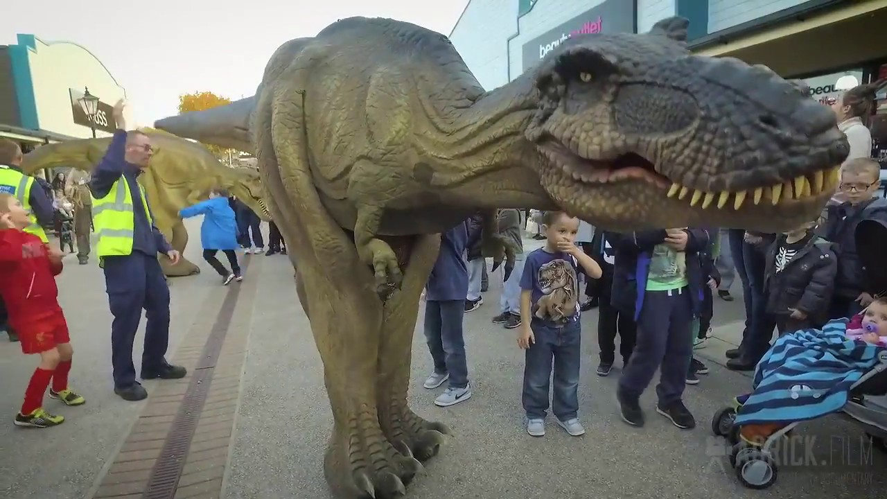 8746f7122 T Rex Dinosaur | Shopping Centre | Big Foot Events - YouTube