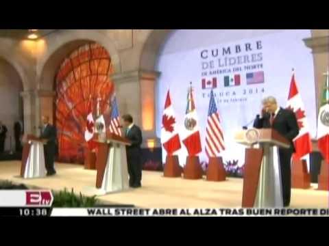 Peña Nieto habla de la Cumbre del Norte 2014   Excélsior informa