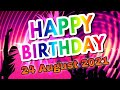 Animated Happy Birthday Video With Birthday Song Music Free download for WhatsApp