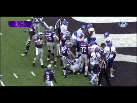 Kansas State QB Collin Klein vs Kansas ᴴᴰ