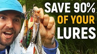 Video HOW TO MAKE and USE the best Lure Retriever (EASY & CHEAP) Never lose another lure again download MP3, 3GP, MP4, WEBM, AVI, FLV Juli 2018