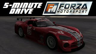 5-Minute Drive - Forza Motorsport - 2003 Dodge #23 Viper Competition Coupe