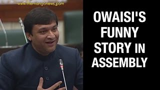 Akbaruddin Owaisi Shares Funny Story in T Assembly to Ridicule Government Minority Schemes