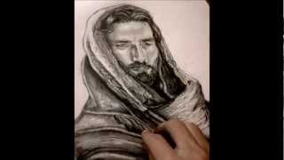 How to draw Jesus Christ - By: Hanna Asfour