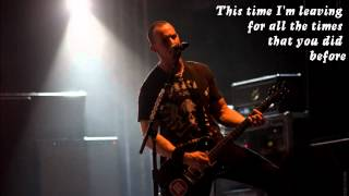 Leave It Alone by Tremonti (Lyrics)