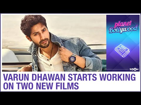 Varun Dhawan starts working on two new films after a break of 6 months