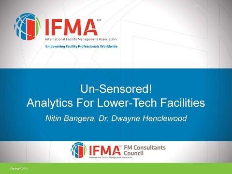 2016 05 26 06 00 FMCC Webinar  Un Sensored Analytics for Lower Tech Facilities