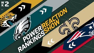 Power Rankings Week 2 Reaction Show: Giants Higher Than Broncos? | NFL Network