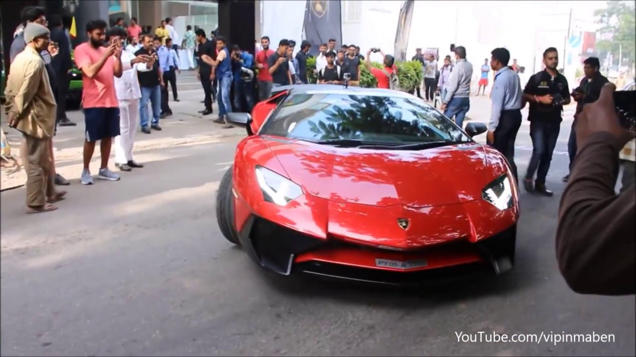 India S Most Expensive Supercar Lamborghini Aventador Sv Roadster