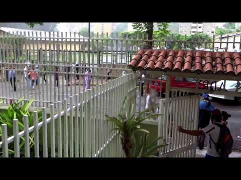 Protestas en La Urbina Caracas Venezuela Mayo 02 2017
