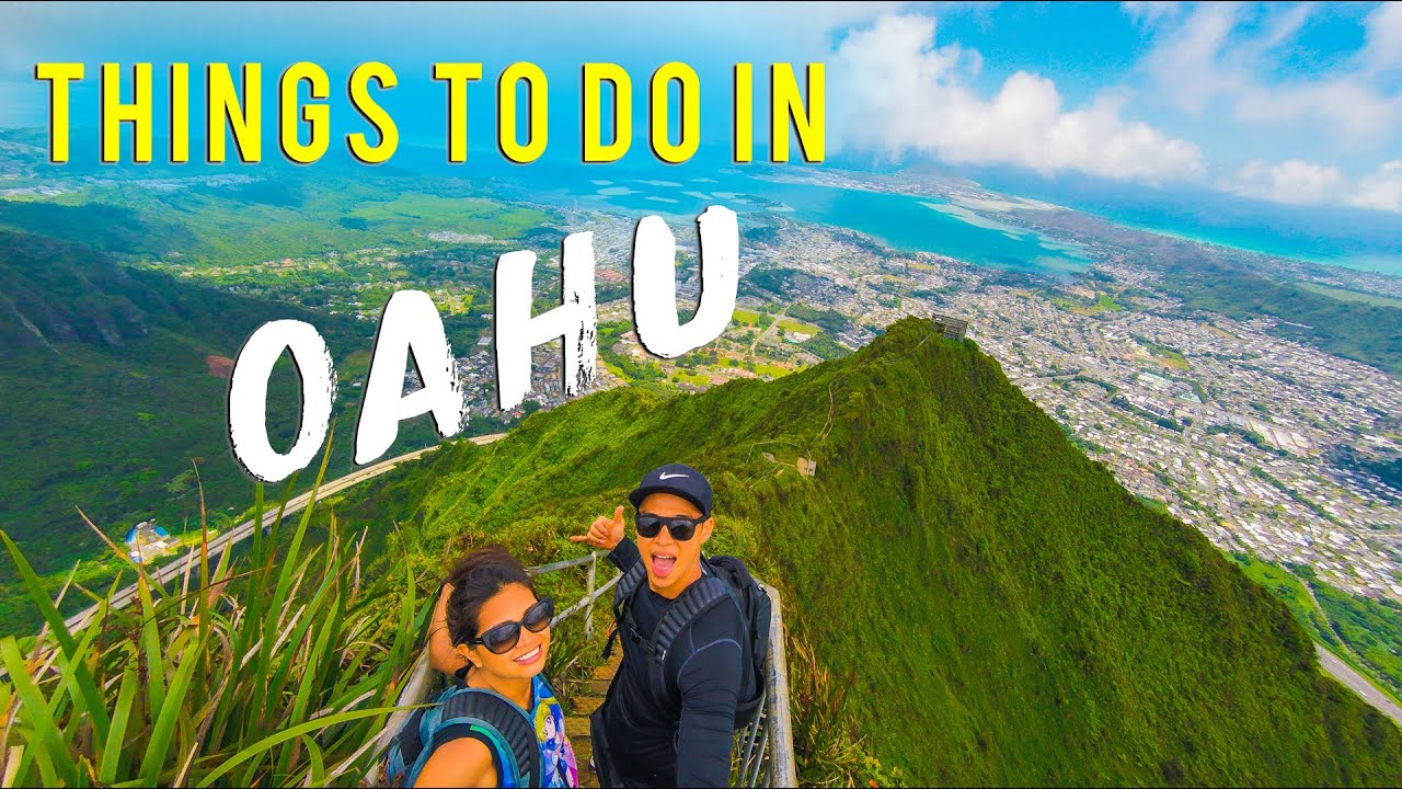 Oahu Hawaii Travel Guide [STAIRWAY TO HEAVEN]