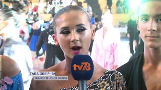 Portrait : danse sportive, une histoire de famille pour les Greif-Ibnouzahir