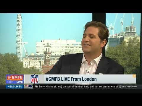 GMFB London | Highlights of KC Chiefs vs Cincinnati Bengals Patrick Mahomes press clip