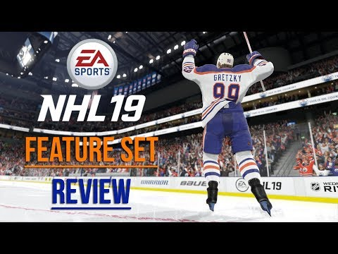 NHL 19 NEW FEATURES AND GAME MODES REVIEW