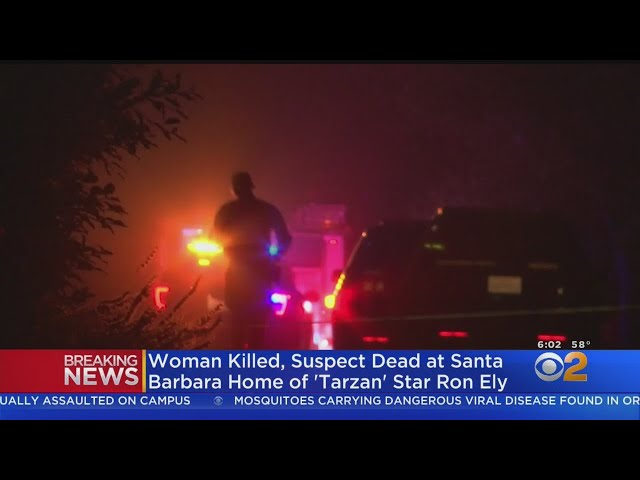 Woman Found Dead, Suspect Killed In Shootout At Actor Ron Ely\'s Home In Santa Barbara